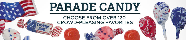 parade candy - choose from over 120 crowd pleasing choices