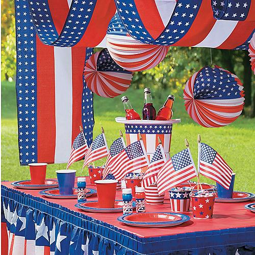 Patriotic decorations party supplies oriental trading for Inter decor usa