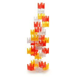 Q-BA-MAZE Warm Colors - Spiral Tower