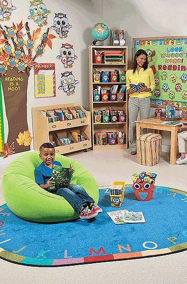 Classroom Reading Nook Ideas ~ Classroom library supplies reading corner themes