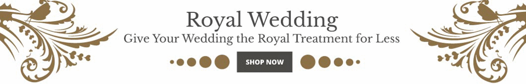 Give Your Wedding the Royal Treatment