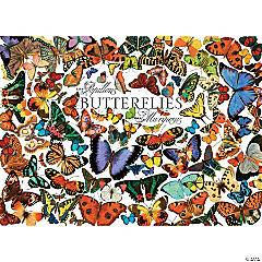 1,000-piece Puzzle: Butterflies