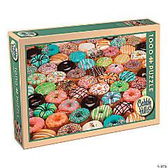 1,000-piece Puzzle: Doughnuts