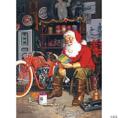 1,000-piece Puzzle: Santa's Flying Merkel