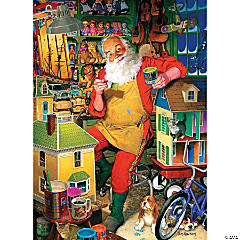1,000-piece Puzzle: Santa's Workshop