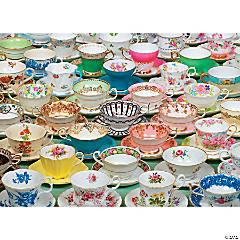 1,000-piece Puzzle: Teacups