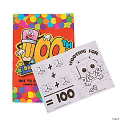 100th Day of School Activity Books