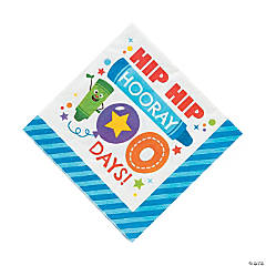 100th Day of School It's a Party Luncheon Paper Napkins