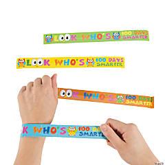100th Day of School Slap Bracelets