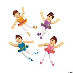 12 Bendable Ballerinas