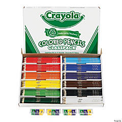 12-Color Crayola<sup>&#174;</sup> Colored Pencils Classpack<sup>&#174;</sup>