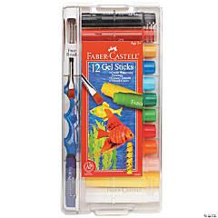 12-Color Faber-Castell Gel Sticks