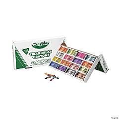 16-Color Crayola® Triangular Crayons Classpack®