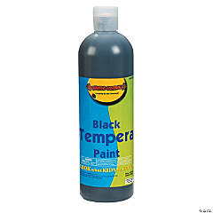16 oz. Black Tempera Paint