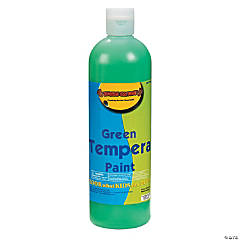 16 oz. Green Tempera Paint
