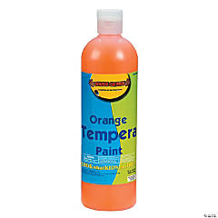 16 oz. Orange Tempera Paint