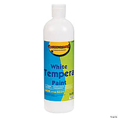16 oz. White Tempera Paint