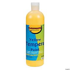 16 oz. Yellow Tempera Paint
