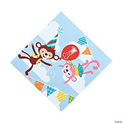 1st Birthday Circus Luncheon Napkins