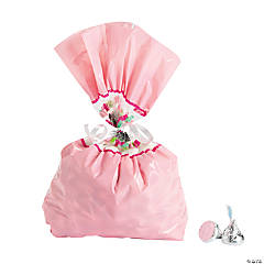 1st Birthday Girl Chalkboard Cellophane Bags