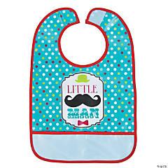 1st Birthday Mustache Bib