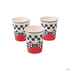 1st Birthday Race Car Cups