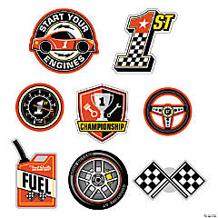 1st Birthday Race Car Wall Cutouts