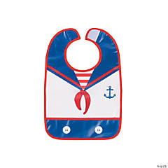 1st Birthday Sailor Bib