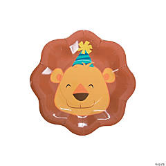 1st Birthday Zoo Dessert Plates