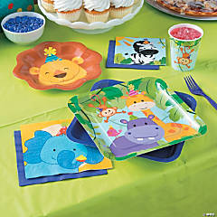 1st Birthday Zoo Party Supplies