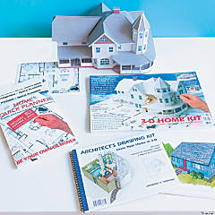2-D and 3-D Architecture Kits: Set of 3