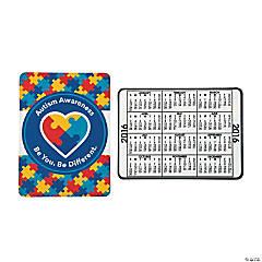 2016 Autism Awareness Wallet Card Calendars
