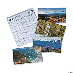 2017 - 2018 Nature Pocket Calendars