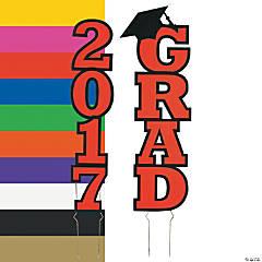2017 Grad Yard Sign