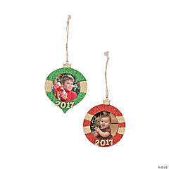 2017 Picture Frame Ornaments