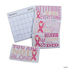 2019 - 2020 Pink Ribbon Pocket Calendars