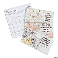 2019 - 2020 Scripture Pocket Calendars