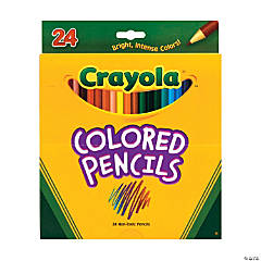 24-Color Crayola® Color Pencils - 24 pcs.