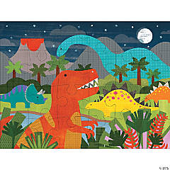 24-piece Floor Puzzle: Dinosaur Kingdom