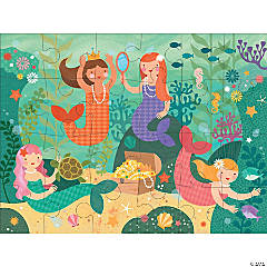 24-piece Floor Puzzle: Mermaid Friends