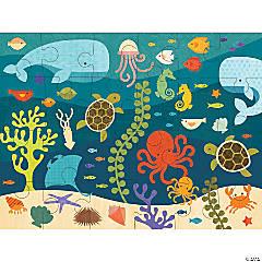 24-piece Floor Puzzle: Ocean Life
