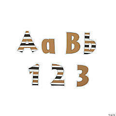 24K Gold Letter Pop-Outs