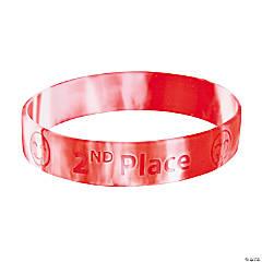 2nd Place Rubber Bracelets