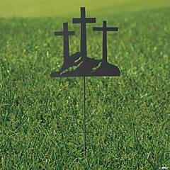 3 Cross Yard Sign