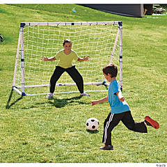 3-in-1 Soccer Goal Trainer Set