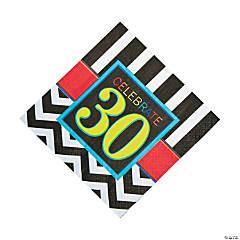 30th Birthday Celebration Luncheon Napkins