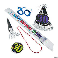 30th Birthday Celebration Party Kit