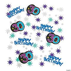 30th Birthday Party Continues Confetti