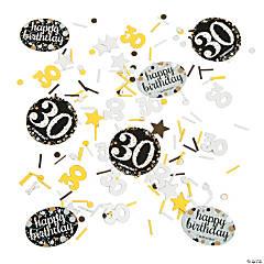 30th Birthday Sparkling Celebration Confetti