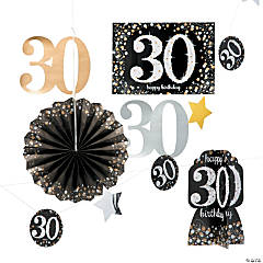 30th Birthday Sparkling Celebration Decorating Kit